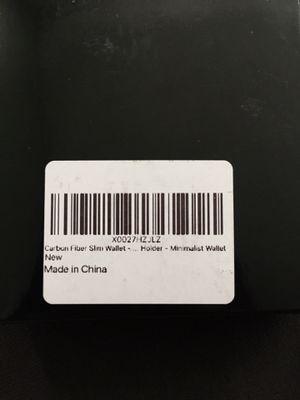 Carbon fiber slim wallet holder with money clip for Sale in Los Angeles, CA