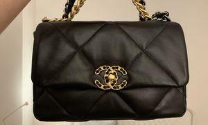 Chanel 19 small black bag for Sale in Hoboken, NJ