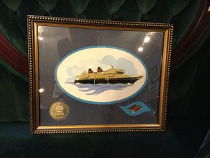 Disney Cruise Line AAA/CAA Exclusive Member Benefit Ship Pin Set Framed Picture for Sale in Tampa, FL