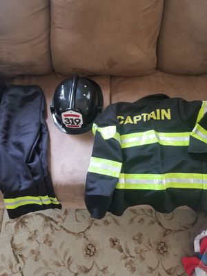 Kids Halloween Costumes 2-4 Mario/Fire Fighter/ Racer Nice!!!$15 each. for Sale in Arlington, VA