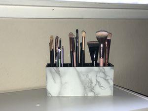 Marble makeup brush holder for Sale in Fresno, CA