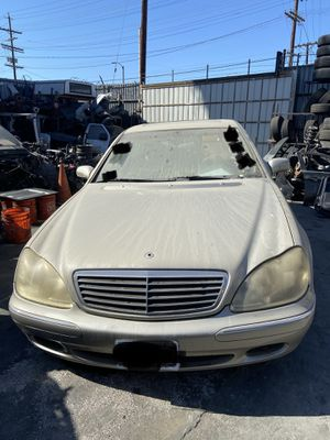PARTING OUT 2000 MERCEDES BENZ SCLASS S430 RWD AUTOMATIC 4.3L 4.3 for Sale in Los Angeles, CA