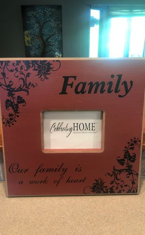 FAMILY photo wall frame for Sale in Columbia, MO