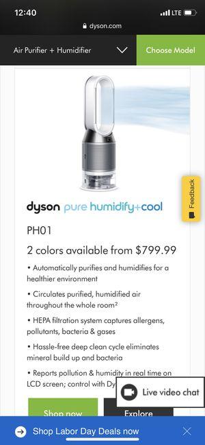 Dyson pure humidify cool fan for Sale in Santa Clara, CA