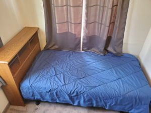 Twin Captain Headboard Bed with Matching Dresser for Sale in Colorado Springs, CO
