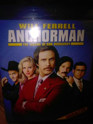 Anchorman The Legend Of Ron Burgundy Blu Ray movie for Sale in Ontario, CA