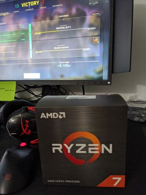USED AMD RYZEN 7 5800X 3.7GHZ 8 CORE CPU for Sale in Reston, VA