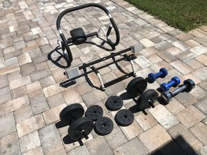 Exercise/weight lifting equipment for Sale in Vero Beach, FL