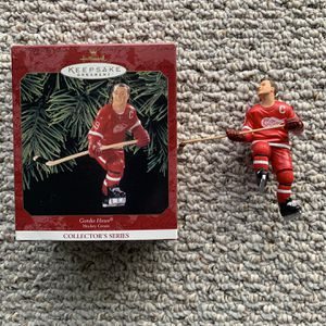 1999 Gordie Howe Hallmark Christmas Ornament - Shipping Included for Sale in Buffalo, NY