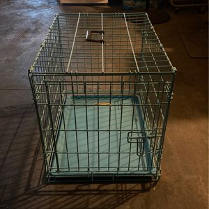Light Blue Dog Crate for Sale in La Puente, CA