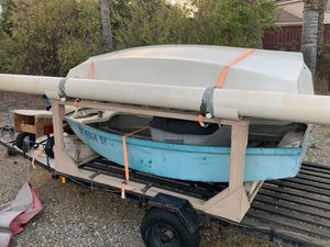 Double sabot trailer and boats for Sale in Escondido, CA