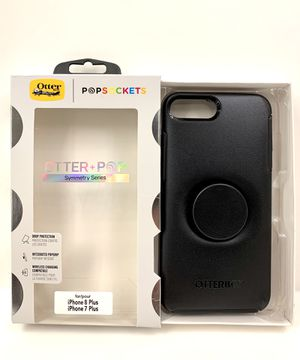BLACK Otter+Pop Symmetry for iPhone 7/8 PLUS, XR, 11, & 11 PRO MAX. for Sale in Norco, CA