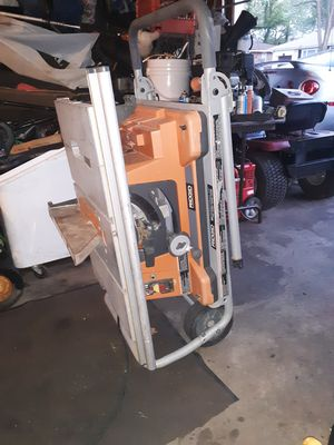 Rigid portable table saw for Sale in Saint Charles, MO
