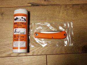 Made in USA GEC Farm and Field Tool Bullnose Work Orange Delrin for Sale in Kent, WA