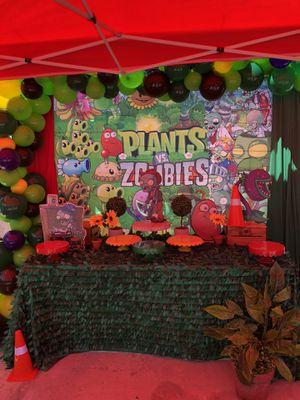 Plantas vs zombies 🧟♂️ party for Sale in Los Angeles, CA