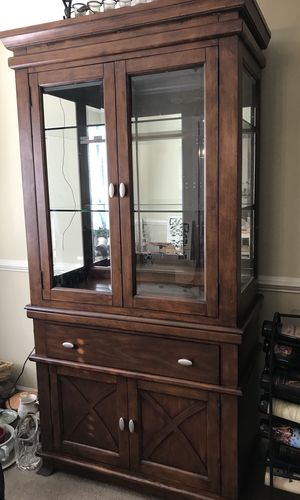 Two Piece China/Display Hutch for Sale in Kernersville, NC