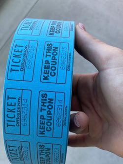 Raffle Tickets! for Sale in Murrieta,  CA
