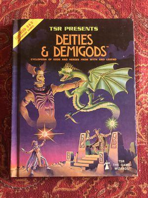 RARE AD&D Deities & Demigods 1st Edition 2nd Print for Sale in Darien, IL