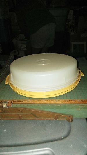 Tupperware pie plate/holder for Sale in Santa Maria, CA