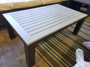New outdoor patio furniture coffee table tax included for Sale in Hayward, CA
