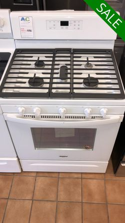 FREE DELIVERY!! Whirlpool CONTACT TODAY! Gas Stove Oven 5 Burner #1497 for Sale in Fort Washington,  MD