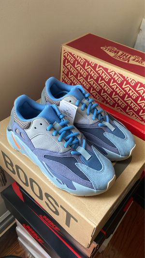 Brand New Yeezy 700 Carbon Blue Size 5 from Adidas for Sale in Queens, NY