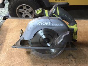 Ryobi brushless 7 1/2 Circular saw for Sale in Oceanside, CA