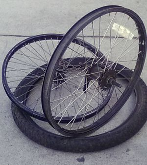 """20"""" BMX Rims with Coaster Brake + 20"""" BMX Tire with Good Tread for Sale in San Diego, CA"""