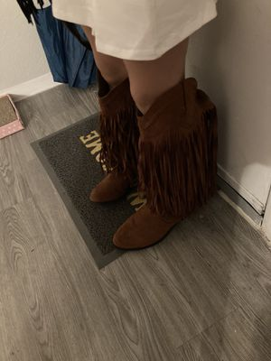 Qupid fringe boots for Sale in Houston, TX