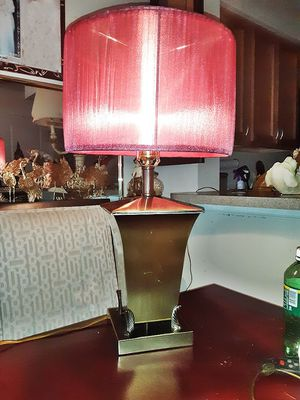 Gold Lamp With Shade for Sale in Mount Rainier, MD