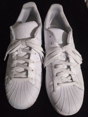 adidas Superstar White Originals Shoes 12 for Sale in Houston, TX