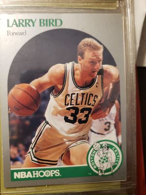 Larry Bird and Danny Aigne basketball cards 1990 for Sale in Ocean Pines, MD