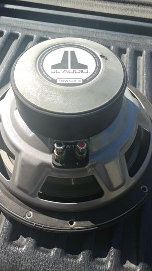 JL Audio 10 inch subwoofer for Sale in Fresno, CA