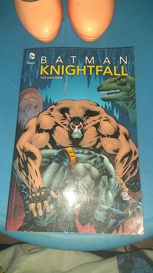 Batman kightfall volumen one Comic book for Sale in Phoenix, AZ