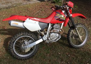 2001 Honda xr250 dirt bike for Sale in Virginia Beach, VA