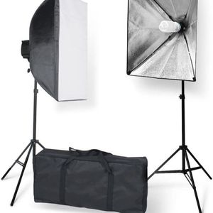 (AVAILABLE FOR PICKUP NOW) Softbox with E27 Socket Light Lighting Kit (Set of 2) for Sale in Miami, FL