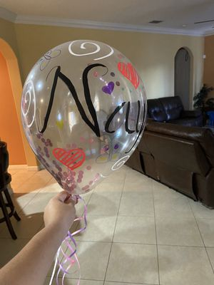 Personalized balloon for Sale in Port St. Lucie, FL