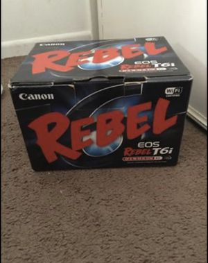 Canon t6i digital camera for Sale in Los Angeles, CA