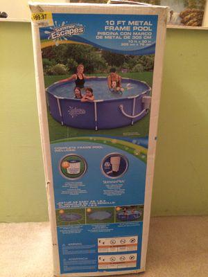 10 ft metal frame Pool for Sale in Manassas, VA