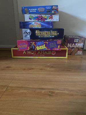 Lot of 7 Card/Board Games for Sale in Los Angeles, CA
