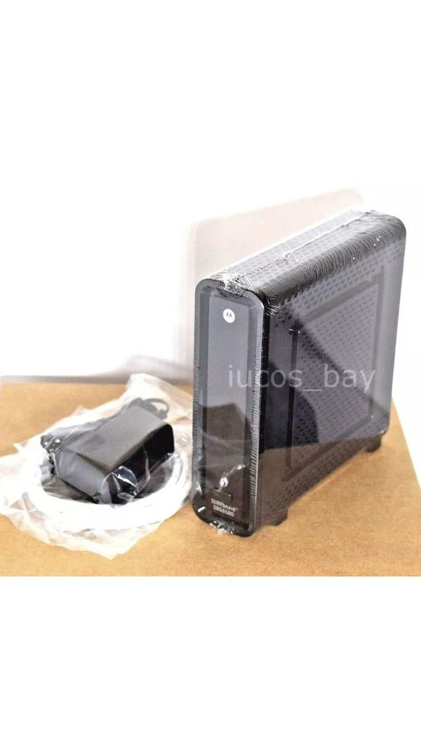 Arris Motorola SBG6580 DOCSIS 3.0 Cable Modem WiFi Router Comcast TWC COX Etc
