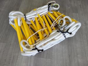 Safety rope ladder 16 foot long with carabines for Sale in Miami Beach, FL