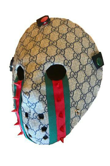 New spiked gucci mask customized