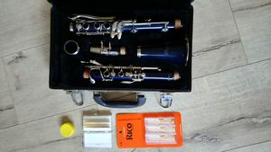 Rossetti Clarinet - Dark Blue - in Hard Case for Sale in Corona, CA