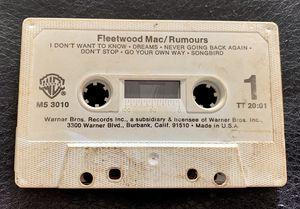 Fleet wood Mac Rumors Music Cassette for Sale in Orlando, FL