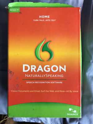 Dragon speech recognition software for Sale in Monroe Township, NJ