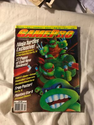 GamePro magazine July 1990 for Sale in Eau Claire, WI