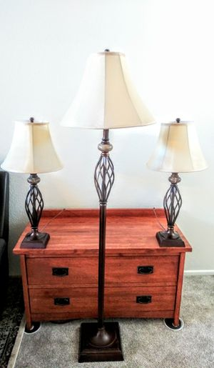 Set of Lamps for Sale in Rancho Cucamonga, CA