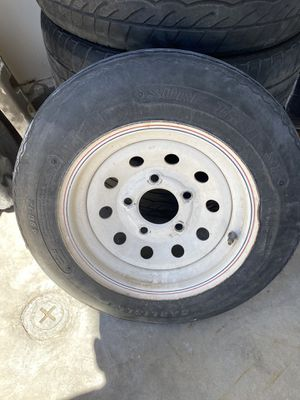 Trailer wheel and tire.. for Sale in Las Vegas, NV