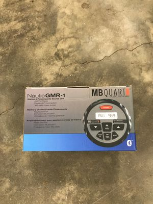 MB Quart marine radio with Bluetooth for Sale in Monterey, MA